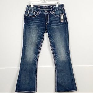 Miss Me Mid-Rise Boot Jeans size 32 new